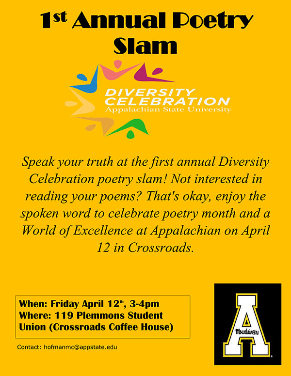 Poetry Slam / Diversity Celebration / Diversity and Inclusion at