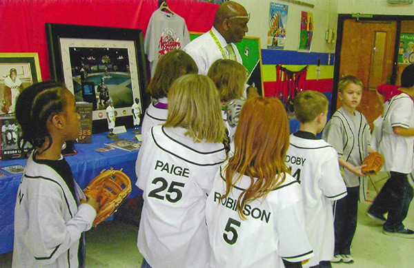 An Interactive Presentation for Children on the Negro Leagues Baseball Era and Players
