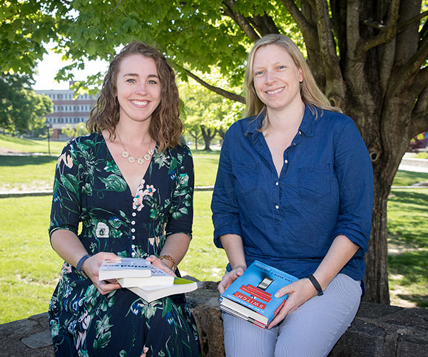 Appalachian faculty Goudas and Inlow use book clubs to provide learning platforms for faculty and students