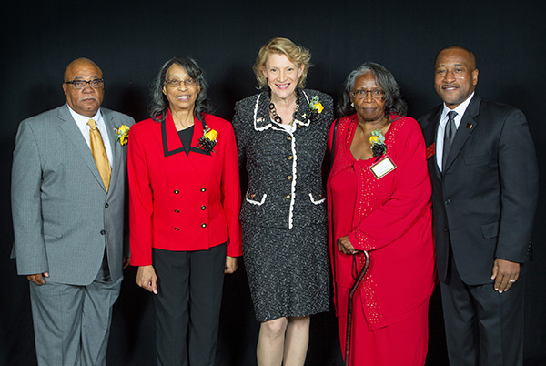 Faces of Courage Award presented to four Appalachian alumni