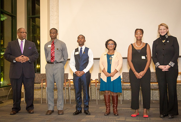 Ceremony recognizes Appalachian State University's Willie C. Fleming Scholars