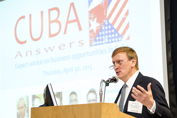 Forum on business opportunities in Cuba held at Appalachian
