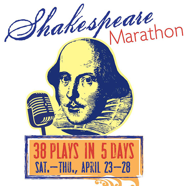 "Students share the stage with dozens of statewide theatres in collaborative ""Shakespeare Marathon: 38 Plays in Five Days"""