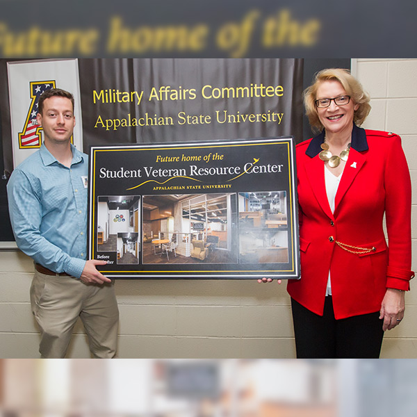 Appalachian State University to open new Student Veteran Resource Center