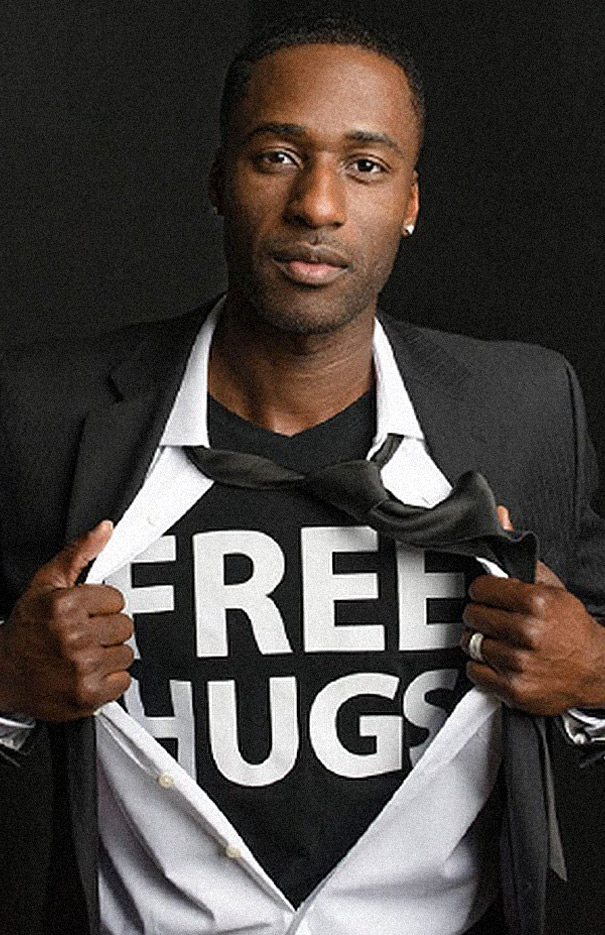 The Free Hugs Project with Ken E. Nwadike Jr.