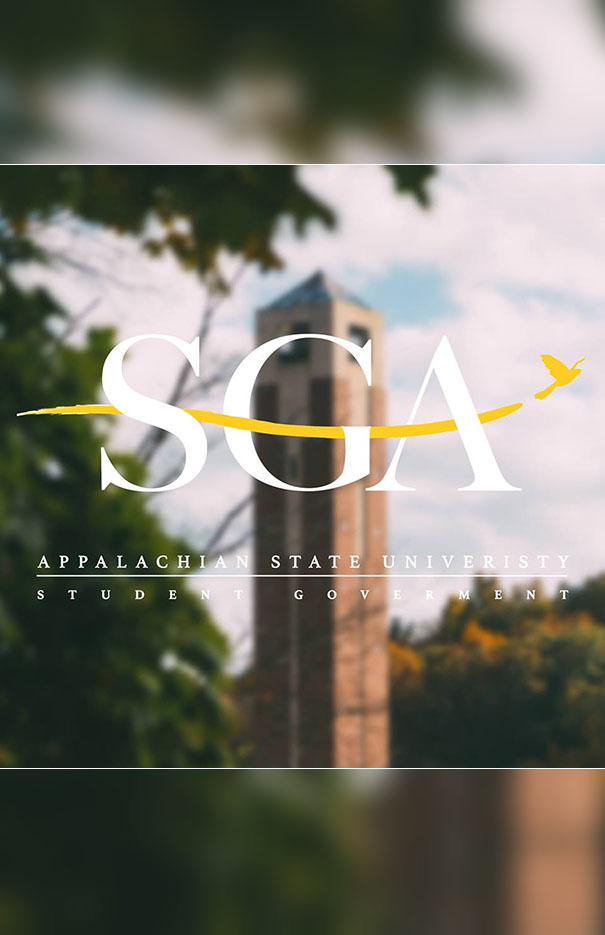 Open meeting of Appalachian's Student Government Association (SGA)